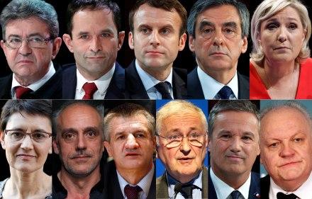 Les-onze-candidats-a-la-presidentielle-2017