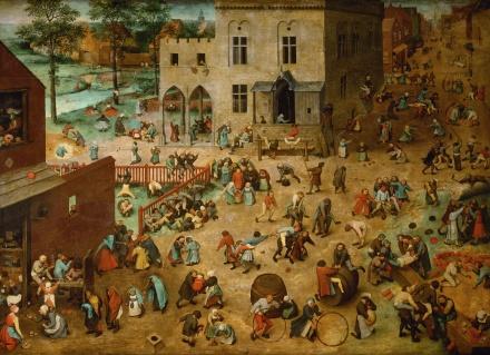 Bruegel jeux d'enfants