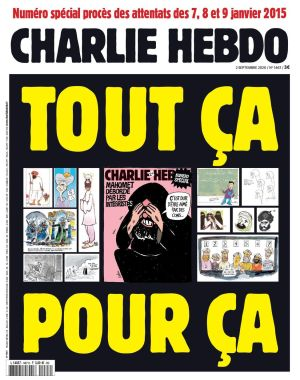 couverture charlie caricatures