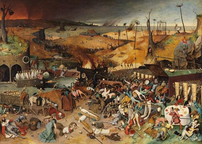Le triomphe de la Mort - Bruegel