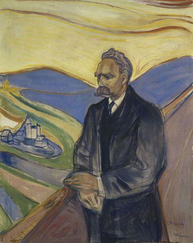 Portrait de Friedrich Nietzsche, par Edward Munch