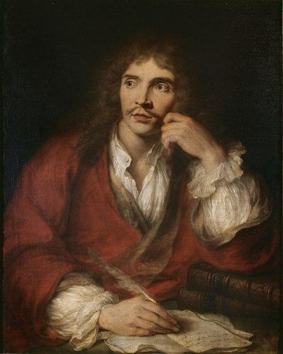 Molière, par Coypel