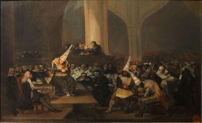 Tribunal de l'Inquisition (Goya)
